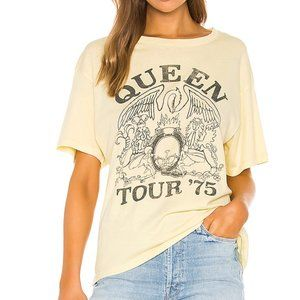 Queen Band 75 Tour Graphic T Shirt